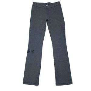 Under Armour Womens M Gray Rival Pants Heat Gear